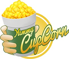 Yummy cup corn