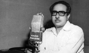 ریڈیو پاکستان سے اپنا پروگرام کرتے ہوئے : ادبی مجلہ