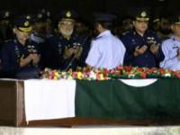 مریم مختیار کی نماز جنازہ کے مناظر