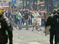 پیرس : پولیس اور مظاہرین کے درمیان جھڑپوں میں سو سےزیادہ افراد گرفتار