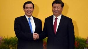 چین اور تائیوان کے لئے تاریخی لمحہ لمبے عرصے کے بعد رہنماؤں کی ملاقات