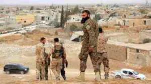 شامی فوج کا دوبارہ قبضہ
