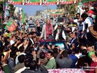 چوہدری سرورکی ٹوبہ ٹیک سنگھ میں انتخابی مہم میں شرکت :ریاض فتیانہ کی مخالفت