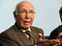 پاکستان میں عدم استحکام کی وجہ امریکہ اور اسکے اتحادی ہیں : سرتاج عزیز