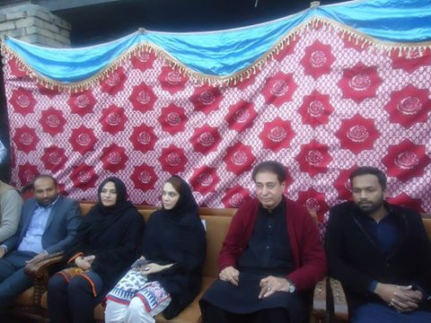 ریاض فتیانہ نے سونیا علی رضا شاہ کو ٹکٹ دینے کا اعلان کیا تھا