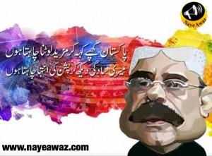 سابق صدر آصف علی زرداری کیا چاہتا ہے