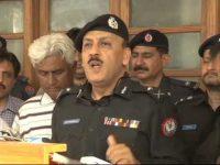 آئی جی سندھ کا جرائم پیشہ اور مفرور افراد کے خلاف کریڈ ڈاؤن میں تیزی کا اعلان