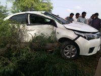 بریکنگ نیوز ۔۔ سابق ممبر پنجاب اسمبلی کی بیٹی کی گاڑی کا جان لیوا حادثہ