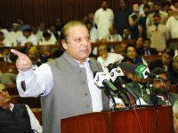 وزیر اعظم پاکستان میاں محمد نواز شریف نے شور کوٹ تا خانیوال ایم 4 سیکشن کے منصونے کا سنگ بنیاد رکھ دیا ۔