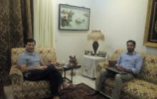 چئیرمین تحریک جوانان پاکستان محمد عبداللہ گل کی پیارا پاکستان ویلفئیر سو سائیٹی کے وفد سے ملاقات