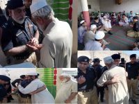انسپیکٹر جنرل کے پی کے ناصر خان درانی کی شہید کانسٹیبل جنید خان کے گھر فاتح خوانی