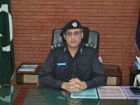 بہاولپور ریجنل پولیس آفیسر محمد ادریس احمد کا ریجنل آفس پہنچنے پر شاندار استقبال
