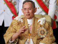 تھائی لینڈ کے بادشاہ اٹھاسی برس کی عمر میں انتقال کر گئے