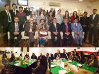 صدر ہائی کورٹ بار کی وفد کے ہمراہ اوورسیز پاکستانی سولیڈیرٹی کے عہدیداران سے ملاقات